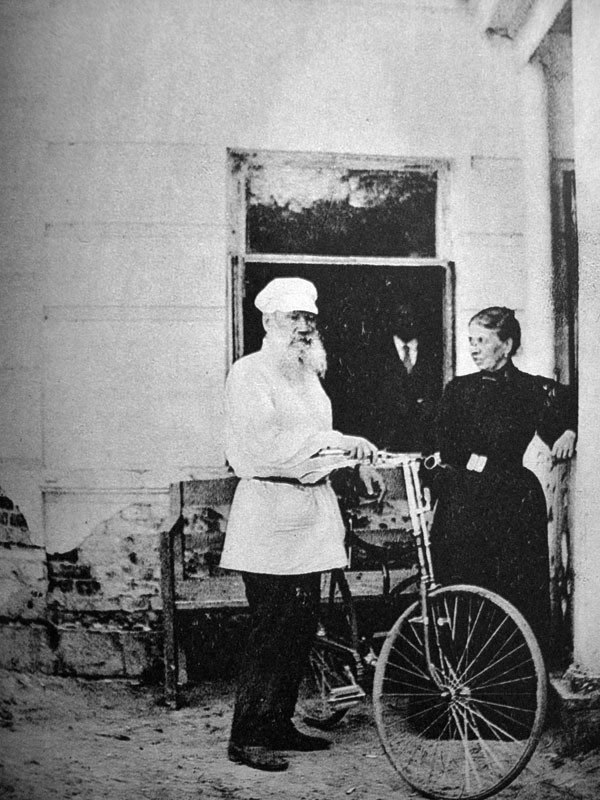 Tolstoy Rode a Bike
