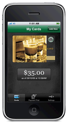 Starbucks Mobile Card