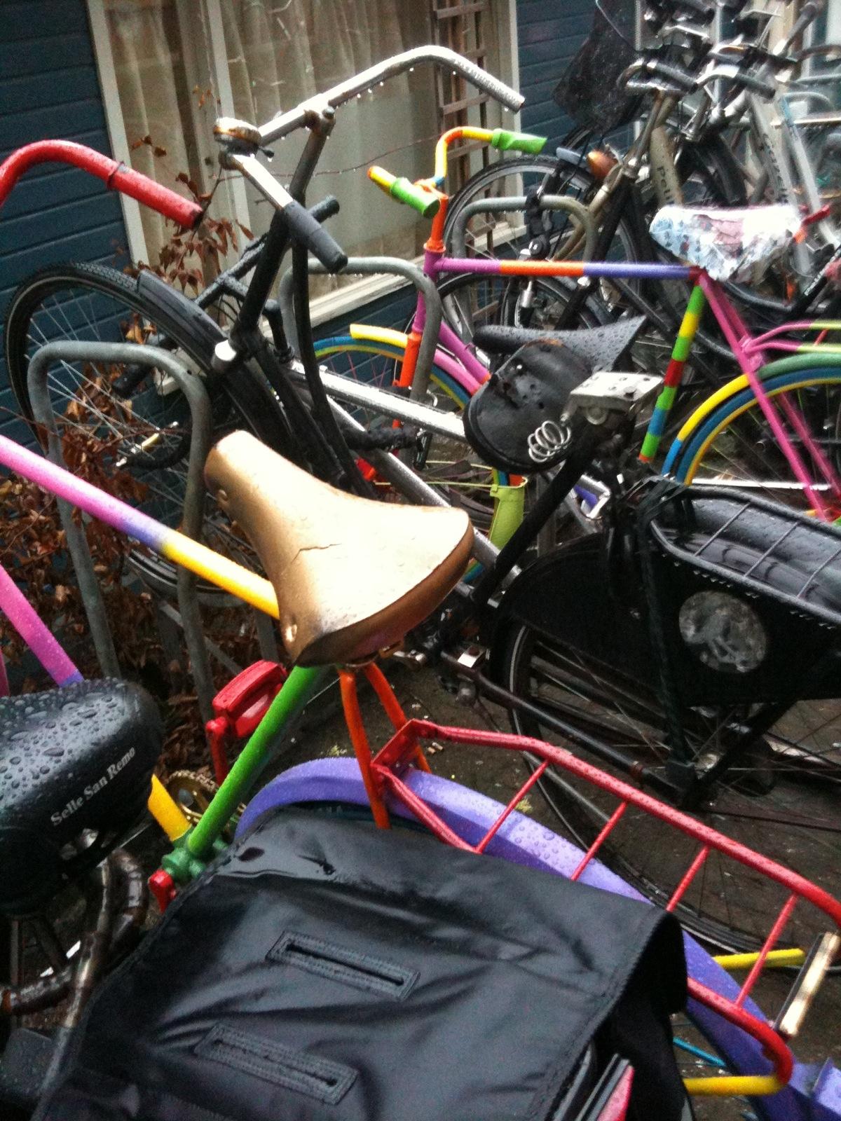 Art bikes