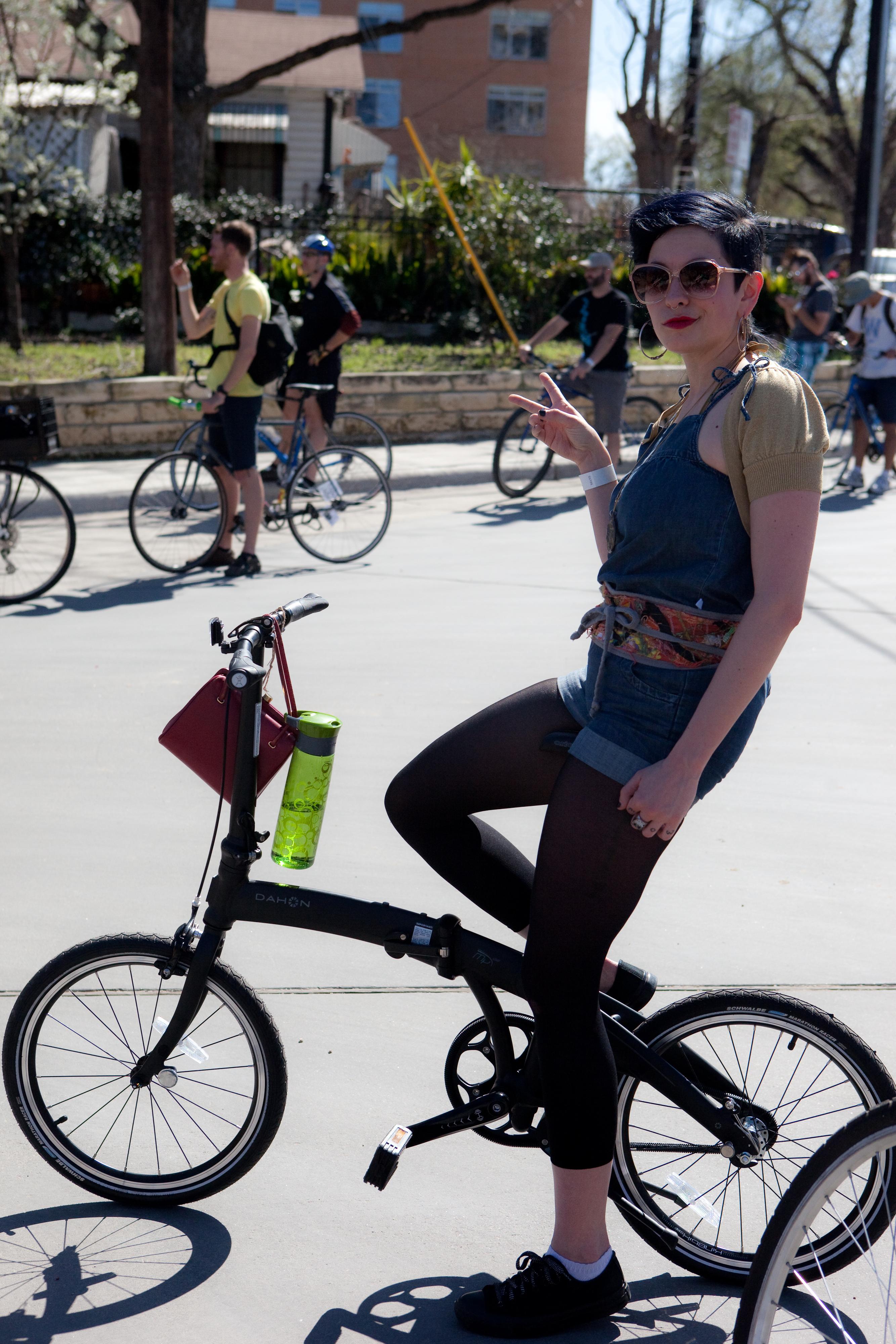 Free bikes are fun