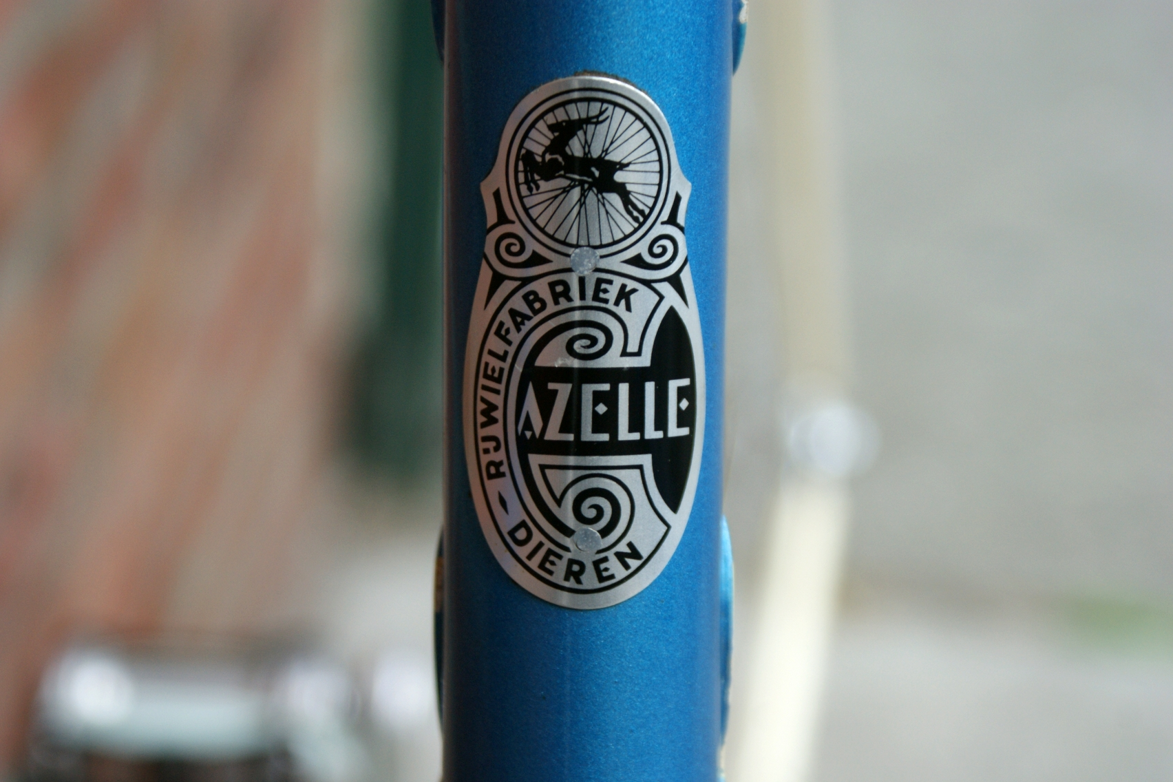 head tube badge for FS