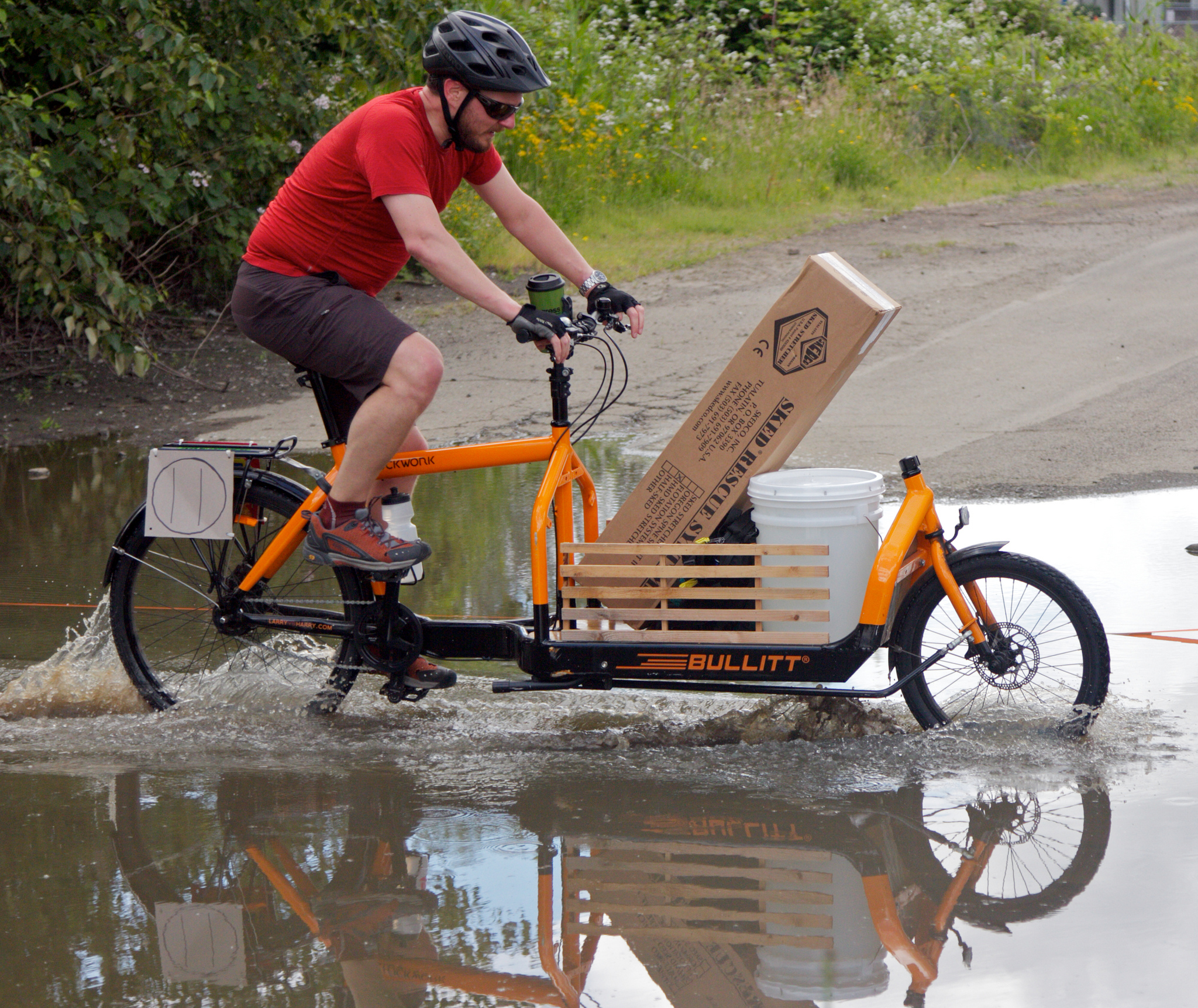 Rescue bike