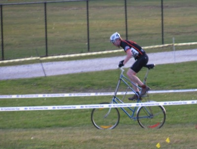 tall bike cross