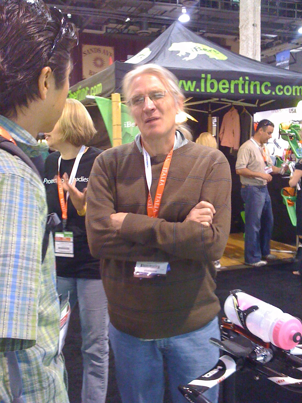 Steve Hed at Interbike