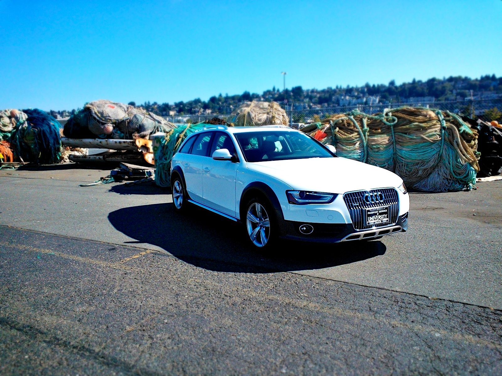 allroad on the dock
