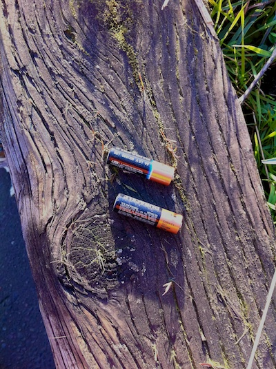 Roadside finds whiskey batteries 2