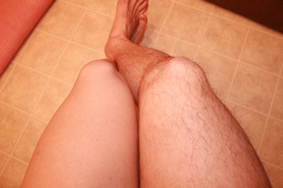 Pictures of shaved legs
