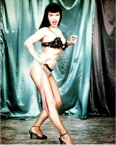 The term originates from pin-up model Bettie Page's signature haircut with
