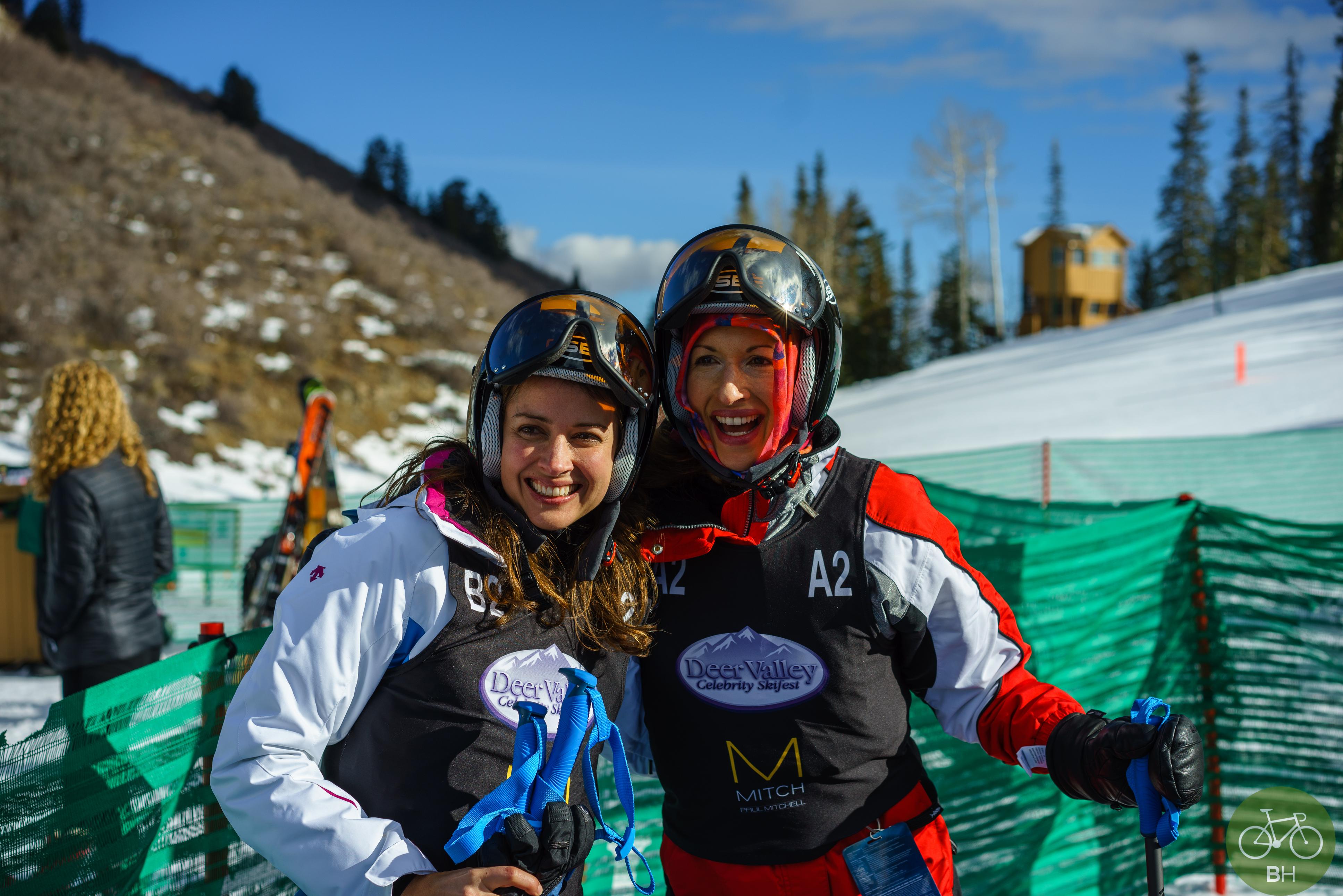 DV Celeb Skifest: Alysia Reiner Amy Ackker