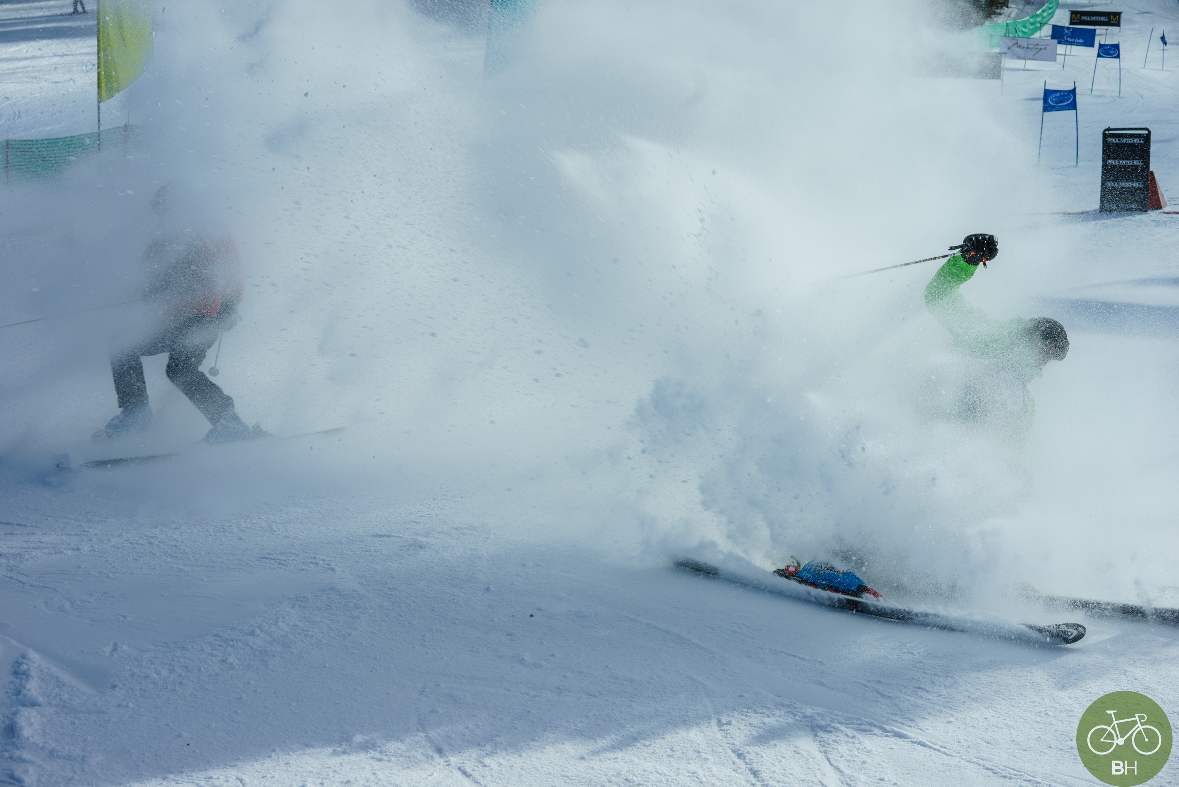 celebs skiiing