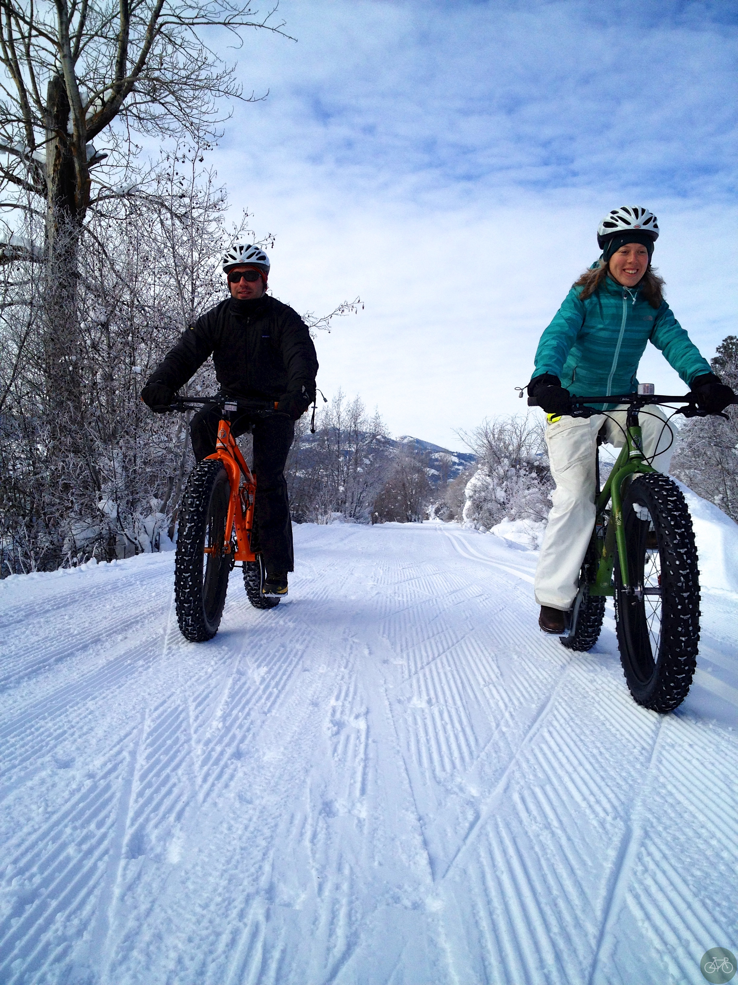 *Couples having fun on Fat Bikes*