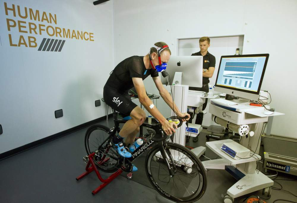 Froome testing