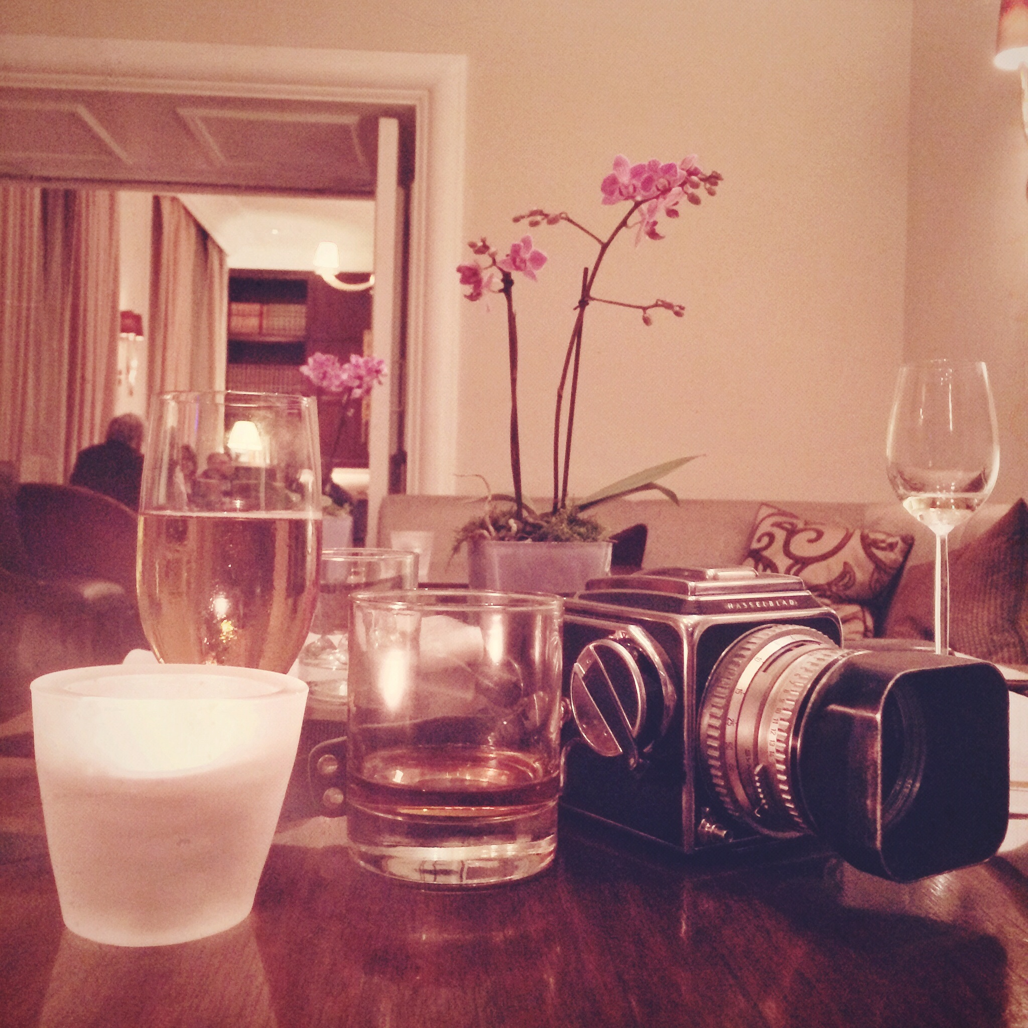 Hasselblad and Whiskey