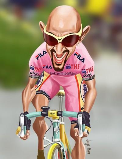 pantani in pink
