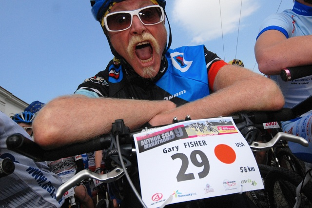 Gary Fisher at Sela Marathon, CZ (from mtbs.cz)