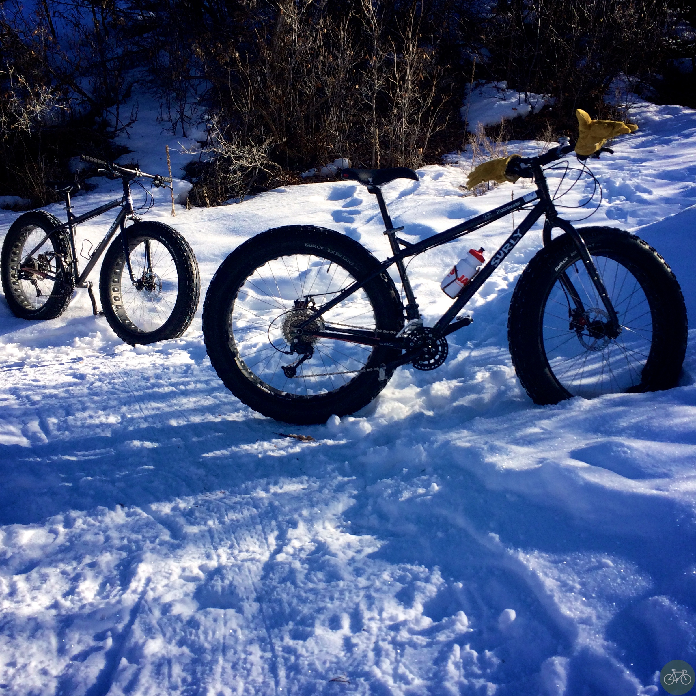 Snow Biking Park City