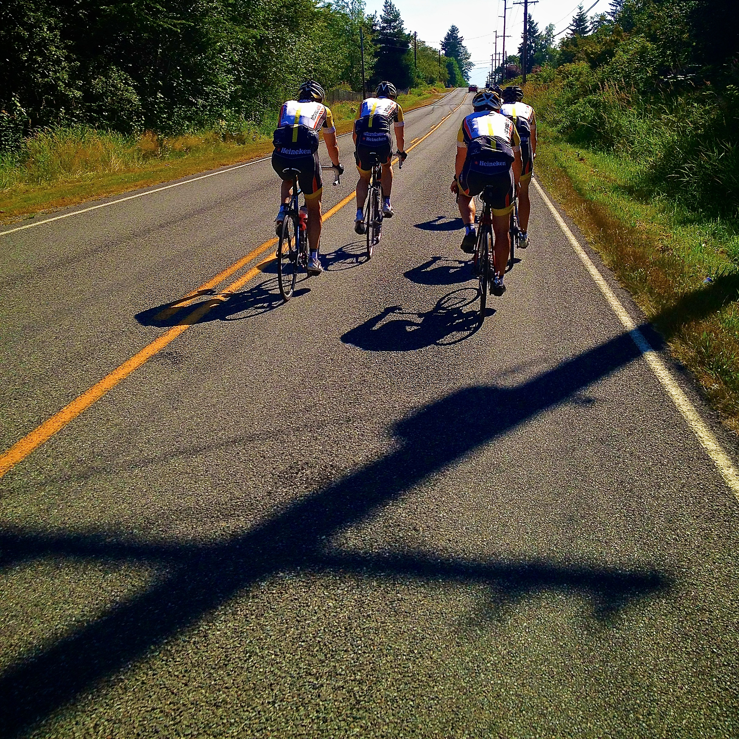team ride with the bros