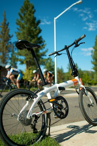Tern Bicycles at the Races - Bike Hugger
