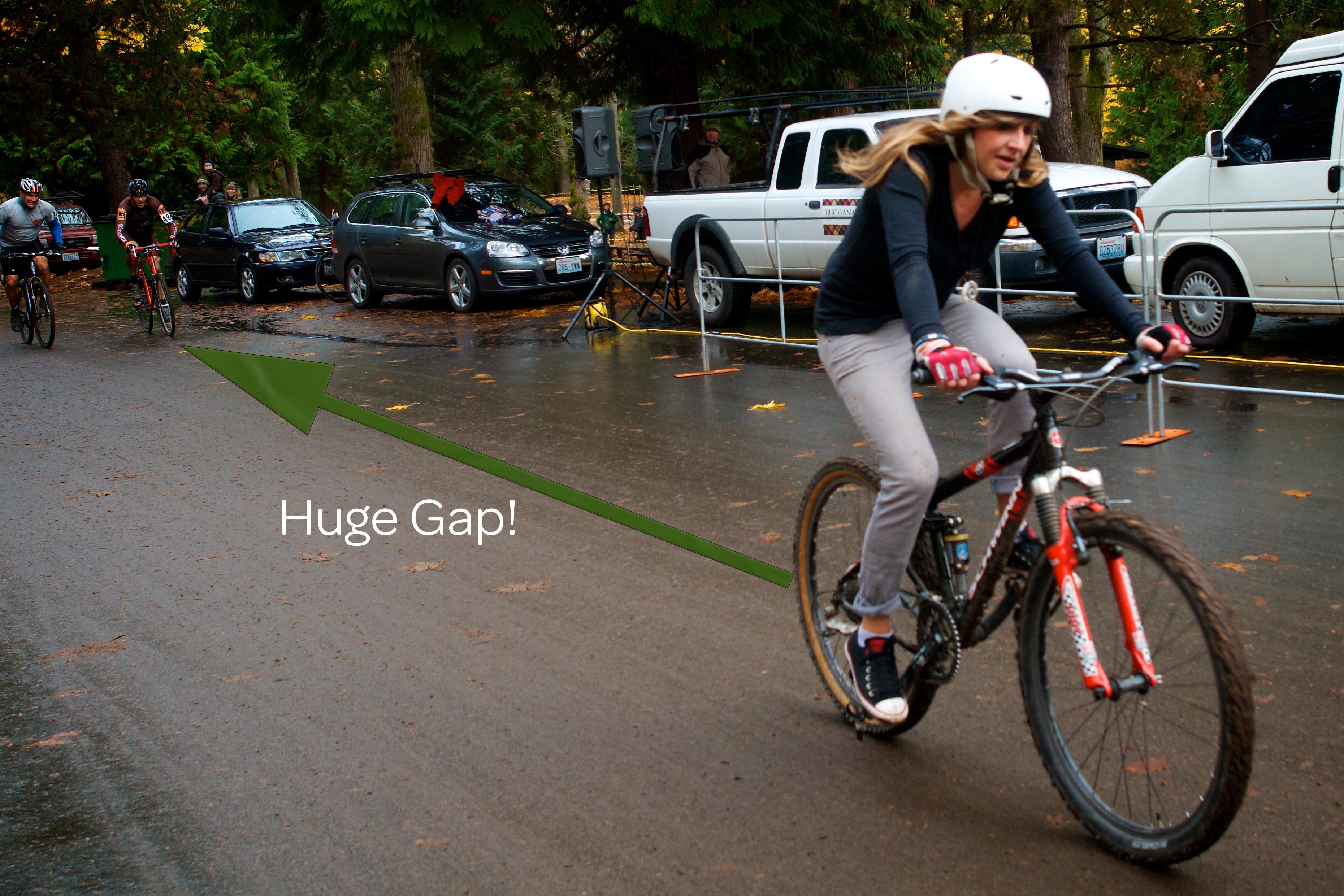 Huge Gaps!