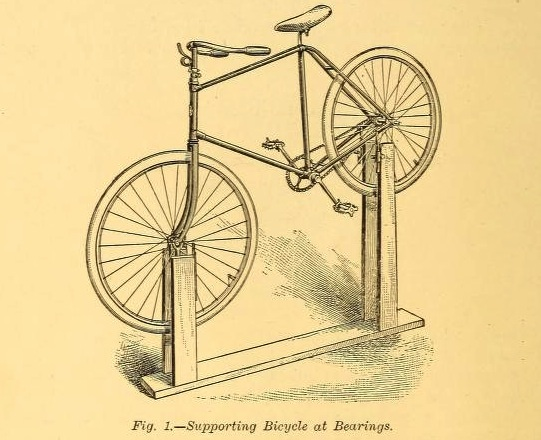 This bike stand would work with Aero bikes now, addressing ISPs and Seat Masts