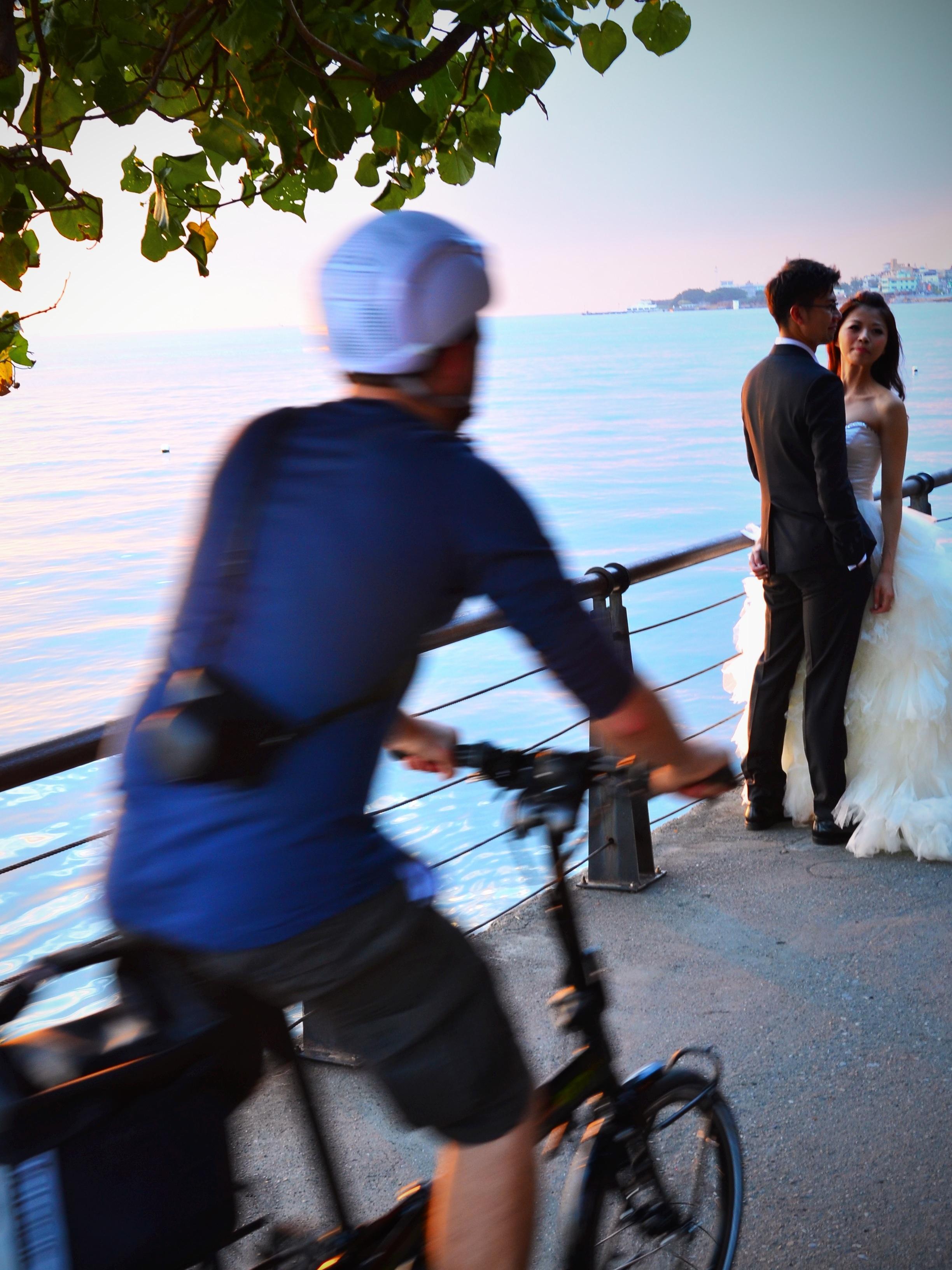 Bike Path Bride