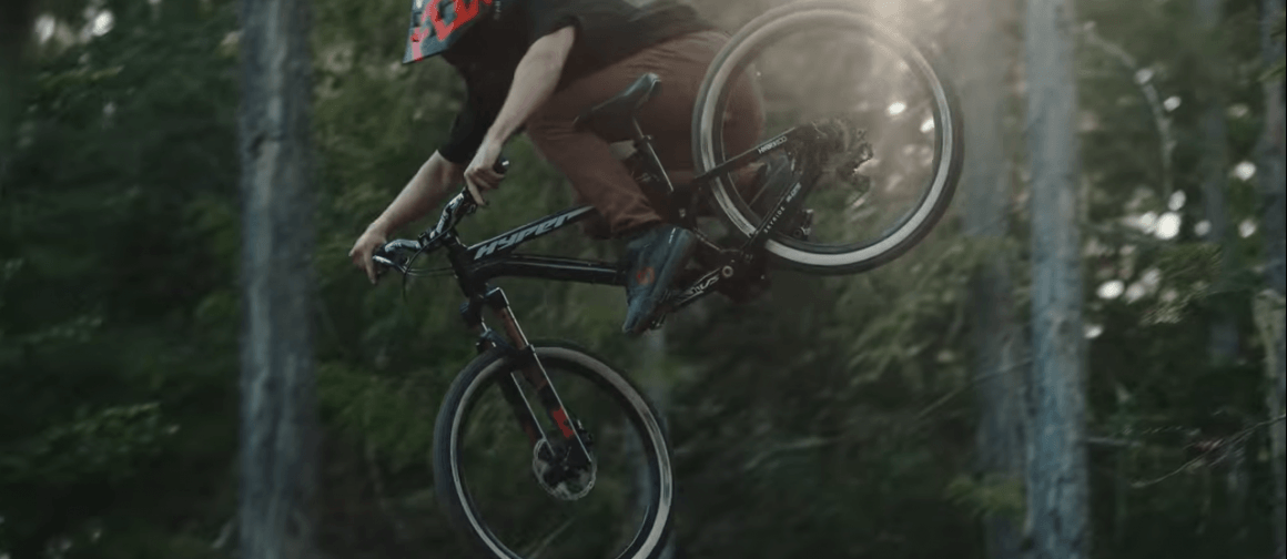 Bas van Steenbergen Rips Down a 'Dream Slalom' MTB Track