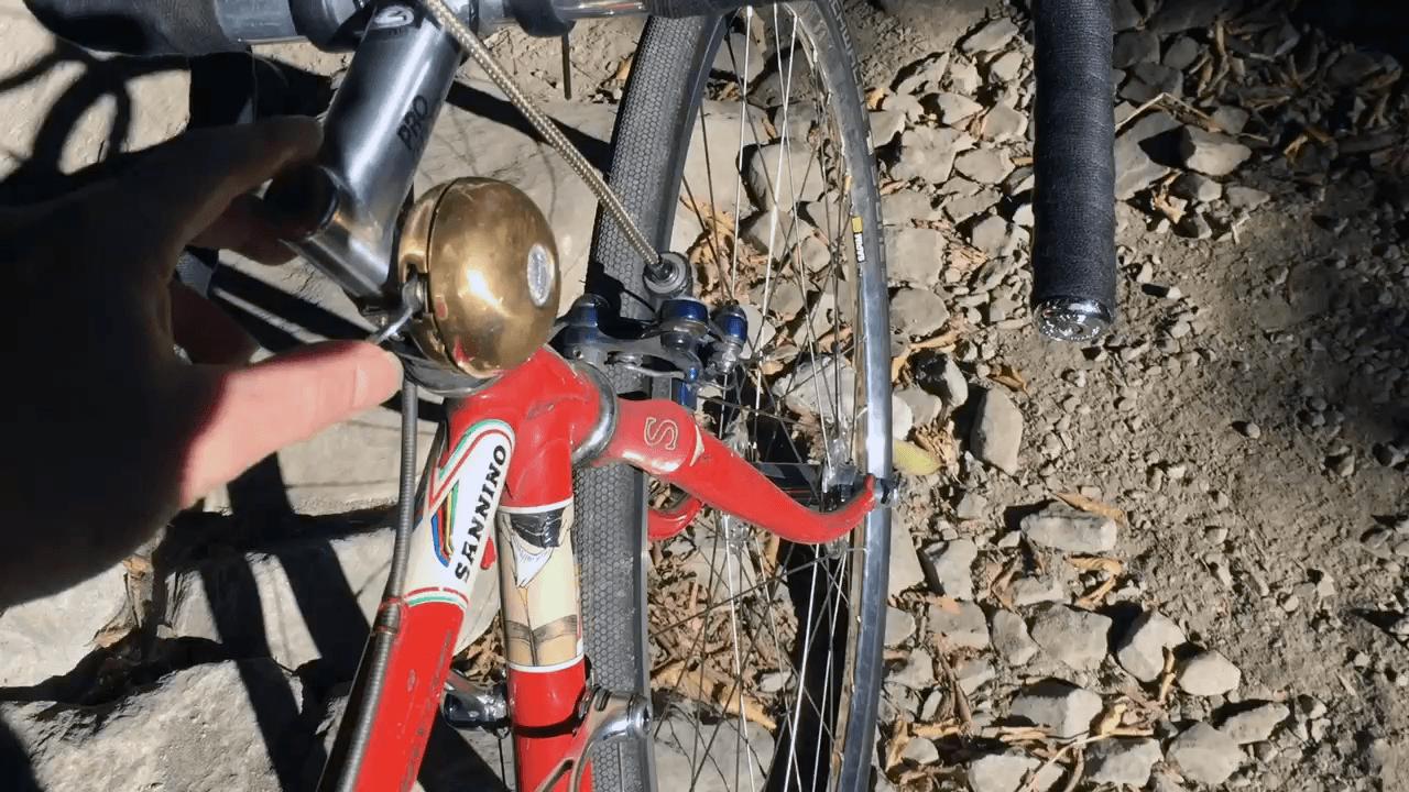 Crane Riten Rotary Brass Bicycle Bell0