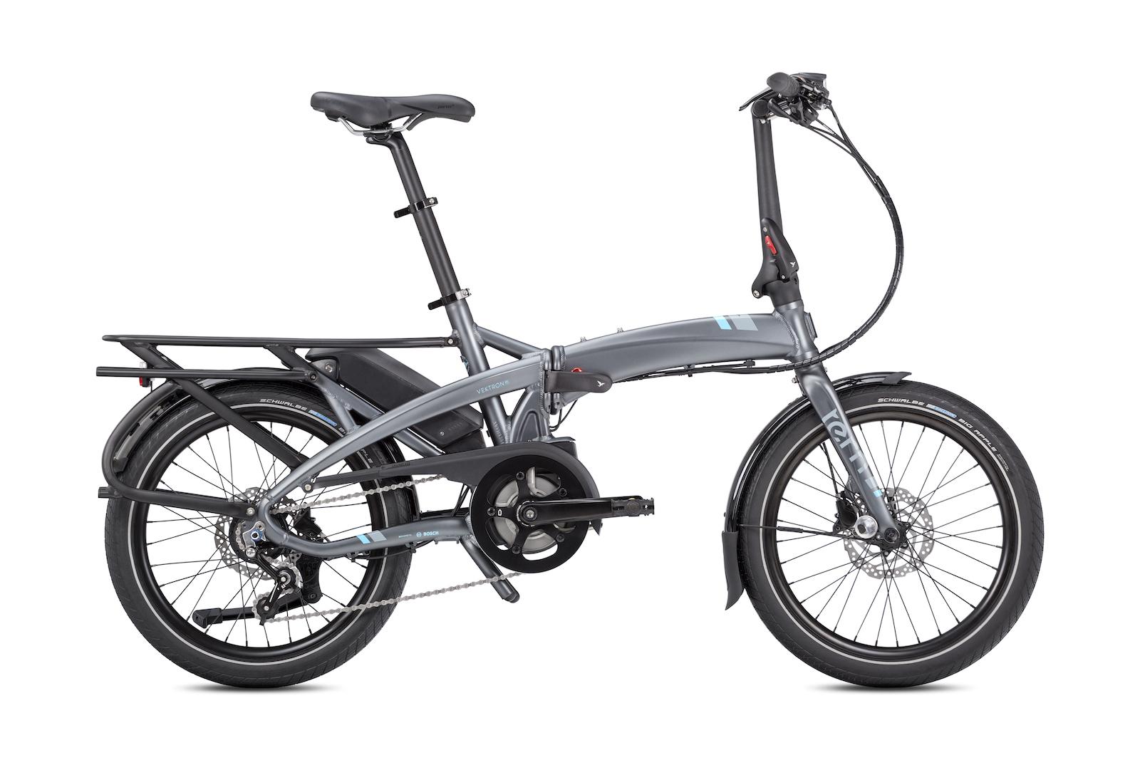 Tern Upgrades Vektron Folding eBike Line - Bike Hugger
