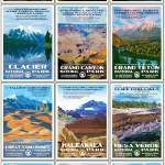 Posters of our National Parks by Decker