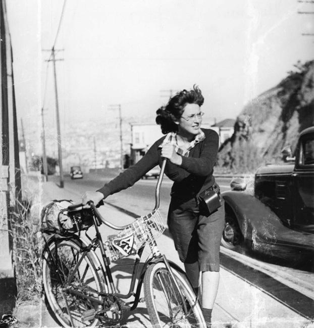 Ruth Orkin Bicycle Trip 1939