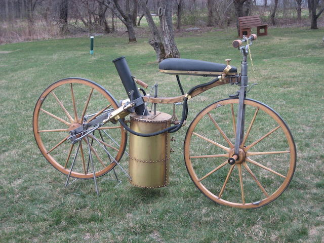 Ruscombe Gentleman's Steam Bicycle