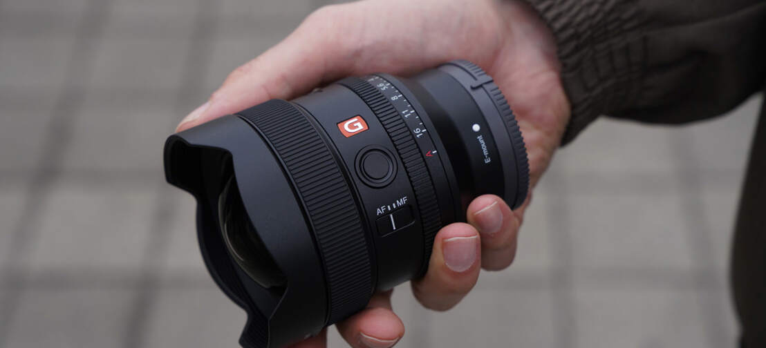 Sony 14mm F1.8 G Master Lens
